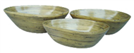 set of 3 mango bowls