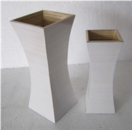 Handicraft bamboo vase