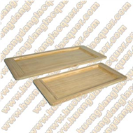 set of 2 rectangle trays