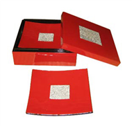 square box with 6 curved coaters