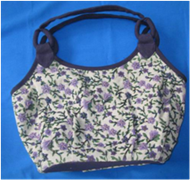 Vietnam Handbag with flower pattern