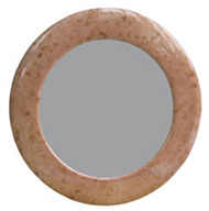 mirror frame brown eggshell