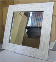mirror frame with MOP inlay