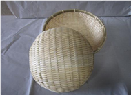 set 2 of bamboo baskets