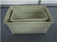 Vietnam Set of 2 Plastic Baskets