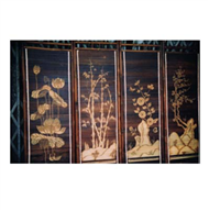 bamboo painting four seasons