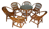 set of table & 6 chairs