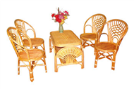set of table & 4 chairs