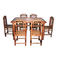 set of dining table & 6 chairs