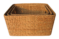 Vietnam set of 3 baskets