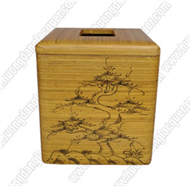 bamboo tisue-paper box