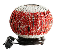Bead pumpkin lamp