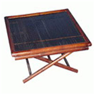 bamboo foldaway table
