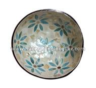 lacquer coconut bowl