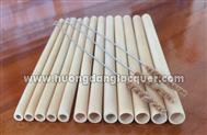 finished bamboo straws