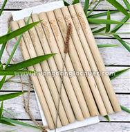 bamboo straws engraved your brand name